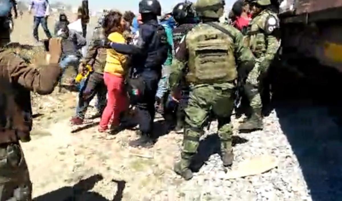 Agreden a la Guardia Nacional enHuamantla