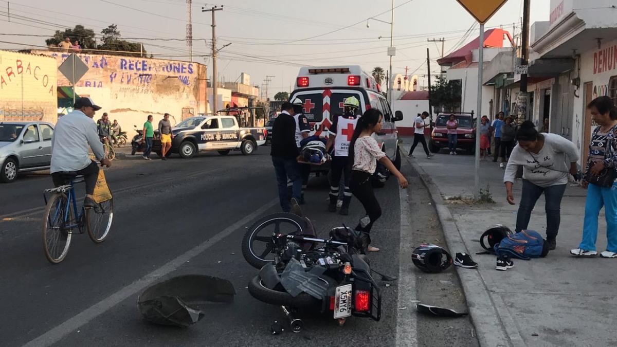 Desmayo provoca accidente en laTlaxcala-Puebla