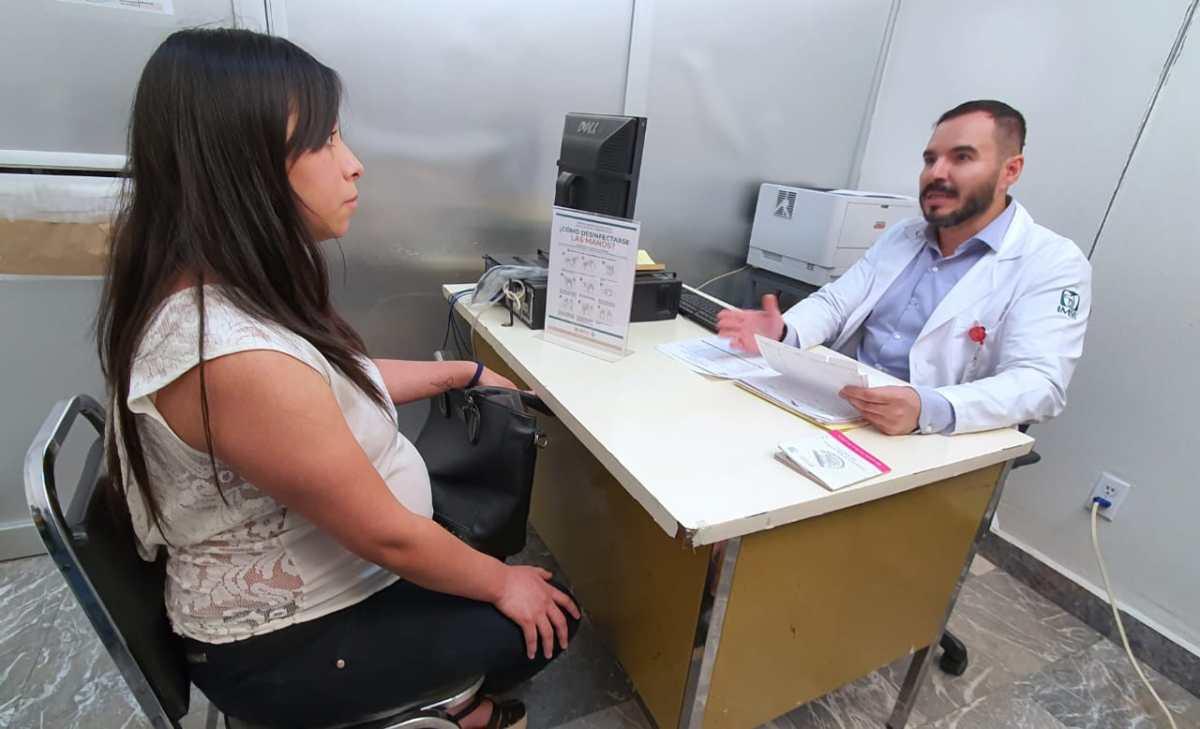 Implementa IMSS filtro sanitario en clínicas y hospitales para prevenir contagio de COVID-19 en mujeresembarazadas