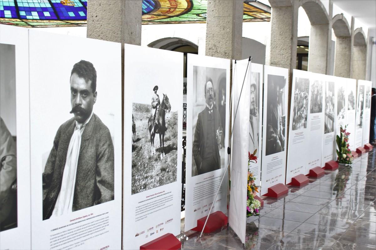 INAUGURAN EXPOSICIÓN FOTOGRÁFICA SOBRE EL GENERAL EMILIANOZAPATA