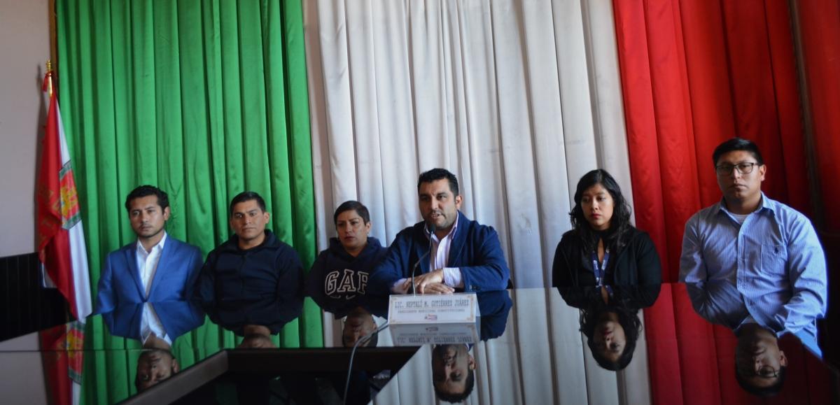 Cierran oficinas del ayuntamiento deCalpulalpan