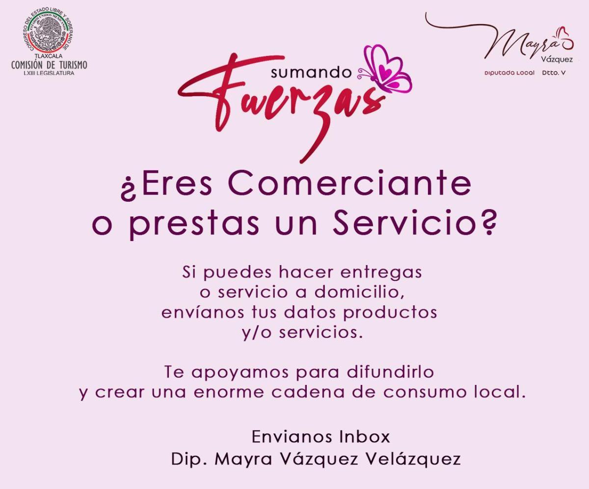 PROMUEVE MAYRA VÁZQUEZ CAMPAÑA DE CONSUMOLOCAL