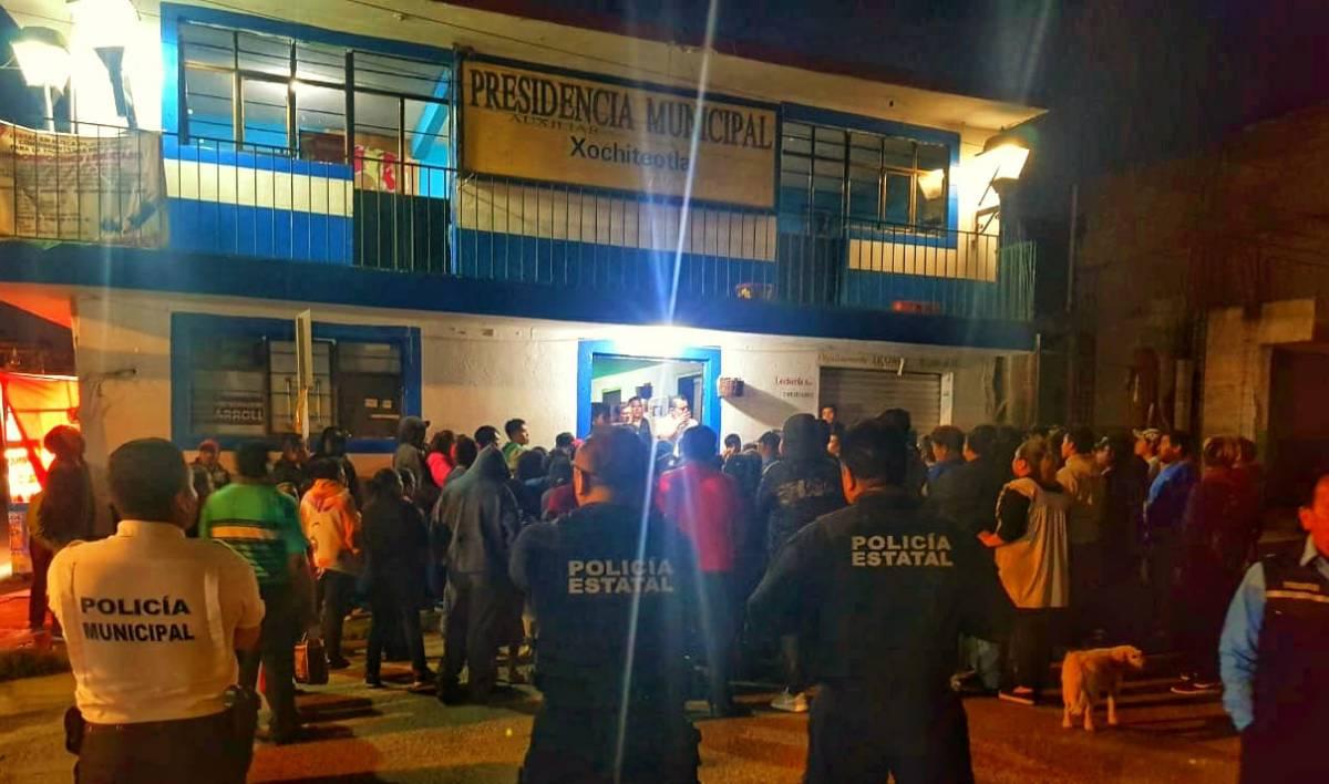 Rescata la policía a probable ladrón enChiautempan