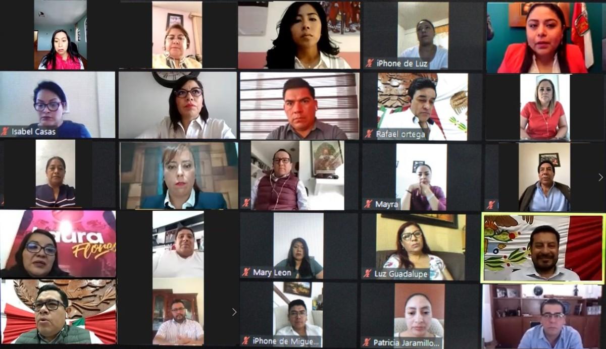 APRUEBA CONGRESO ESTATAL SESIONAR DE MANERA ELECTRÓNICA MIENTRAS PERSISTA LA DECLARACIÓN LA CONTINGENCIA POR ELCOVID-19